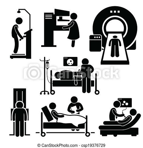 Medizinische Untersuchungsdiagnose - csp19376729