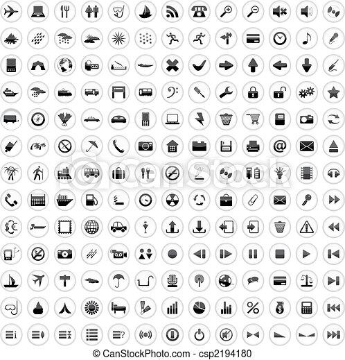 170 Symbole gesetzt. - csp2194180
