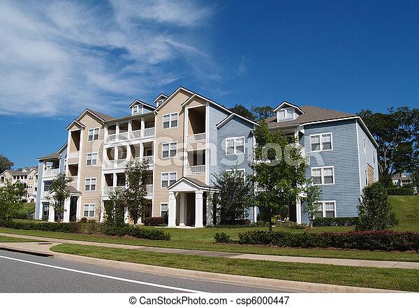 3, eigentumswohnungen, townhou, geschichte, wohnungen - csp6000447