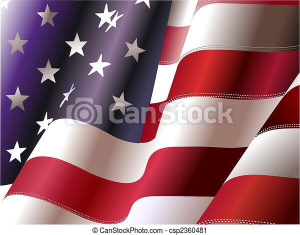 4. Juli , Unabhängigkeitstag der Vereinigten Staaten von Amerika. Poster für Grafikdesigner - csp2360481