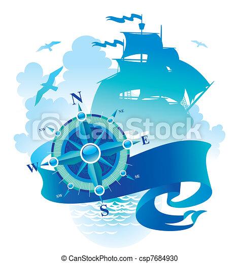 Abenteuer & Reisevektor Illustration - csp7684930