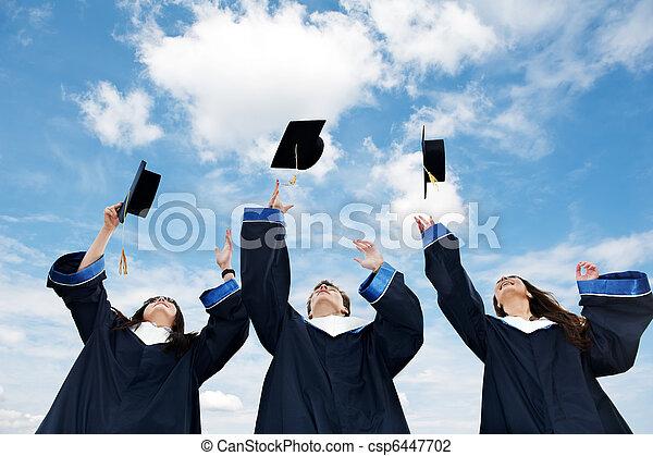Abschlussschüler - csp6447702