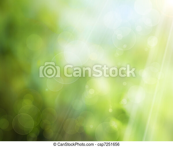 Abstract Spring Natur Hintergrund. - csp7251656