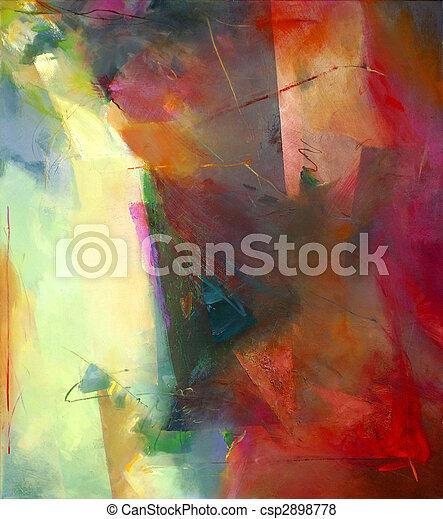 Abstrakte Kunst - csp2898778