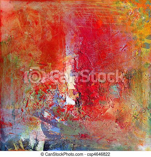 Abstrakte Kunst - csp4646822