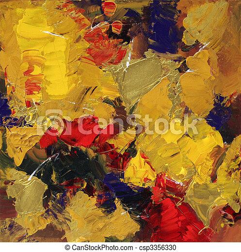 Abstrakte Kunst - csp3356330