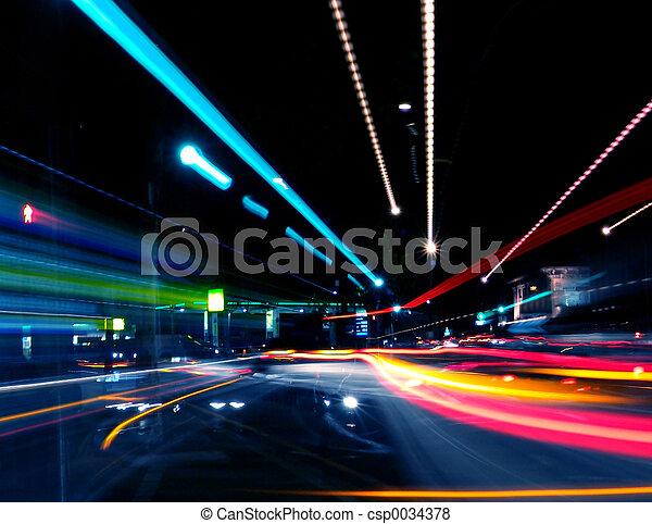 Abstrakte Straße - csp0034378
