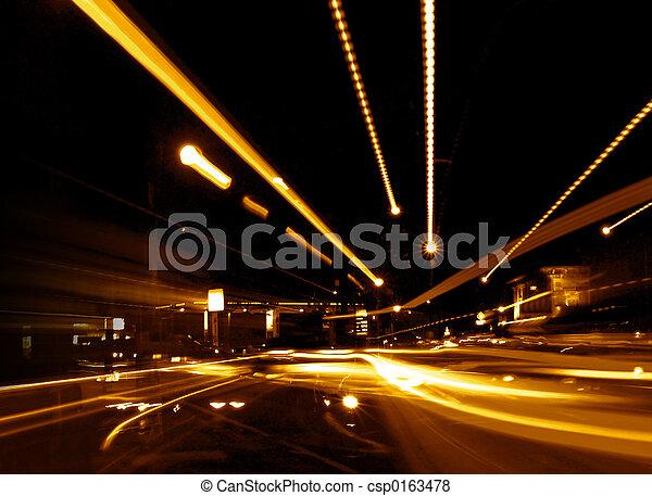 Abstrakte Straße - csp0163478