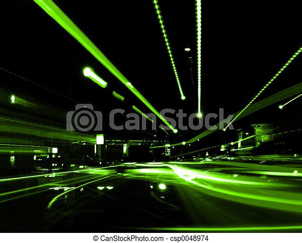 Abstrakte Straße - csp0048974