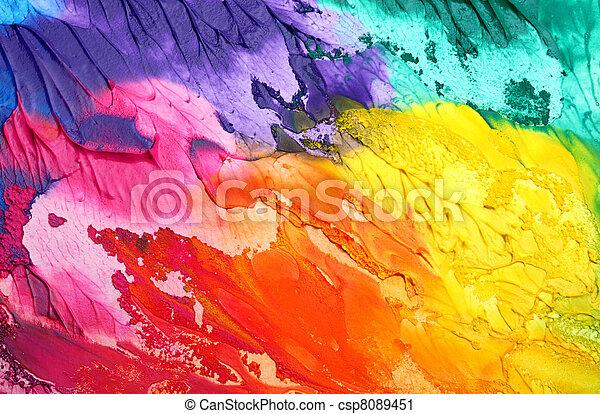 Abstrakter akryler Hintergrund - csp8089451