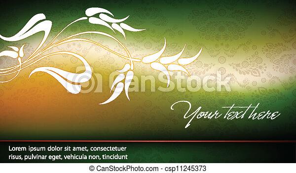 Abstraktes Design  ⁇  EPS10 Vektor Hintergrund - csp11245373