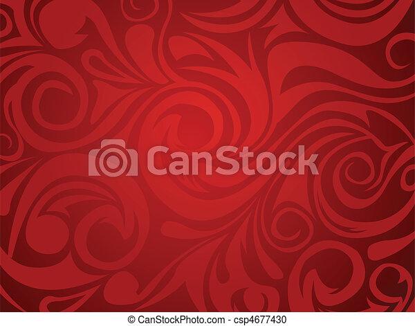 Abstraktes Design - csp4677430