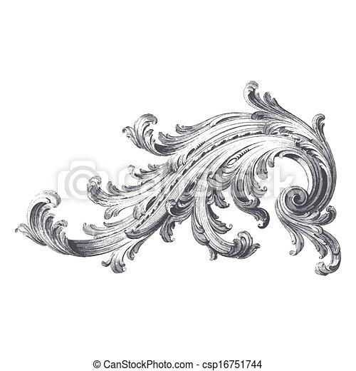 Acanthus Scroll - csp16751744