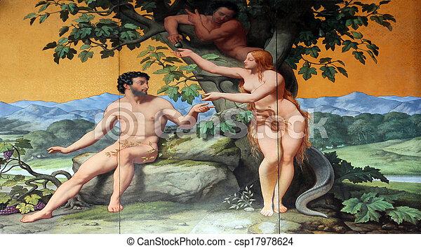 Adam und Eva - csp17978624