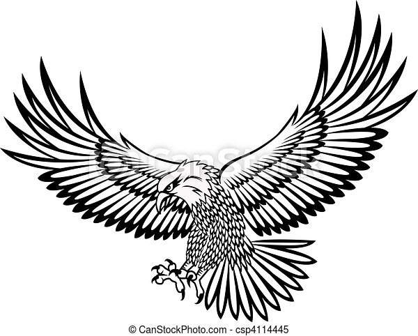 Adlervektor - csp4114445