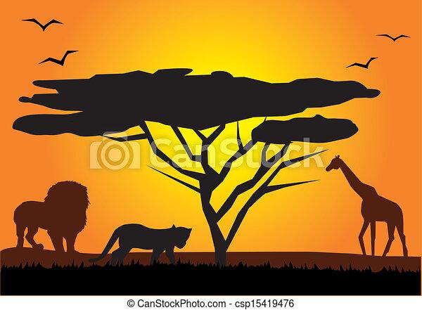 Afrika. - csp15419476