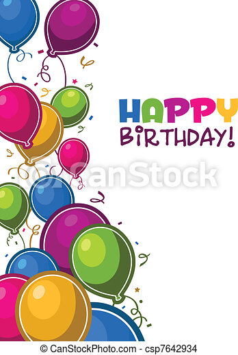 Alles Gute zum Geburtstag - csp7642934
