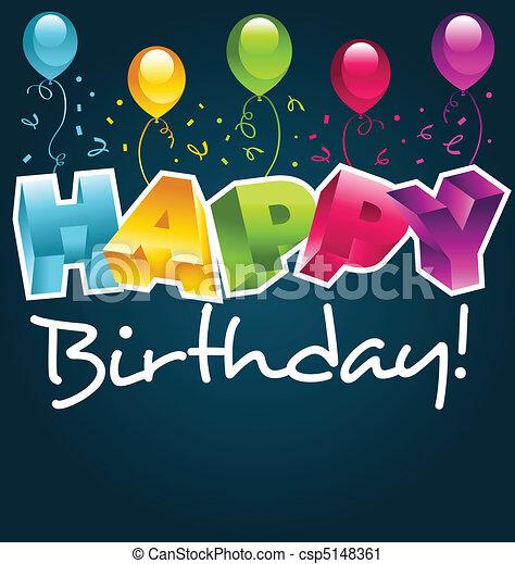 Alles Gute zum Geburtstag - csp5148361