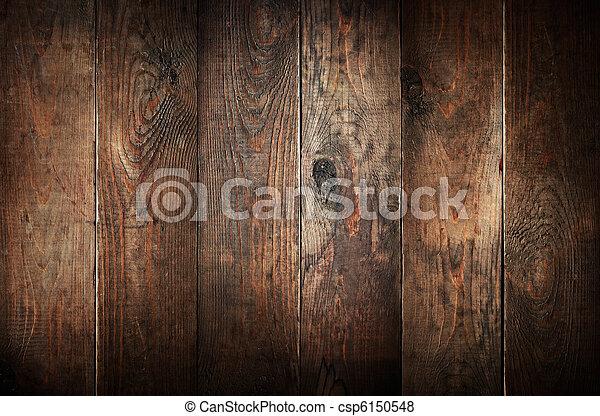 Alte Holzplanken. Hintergrund abbrechen. - csp6150548