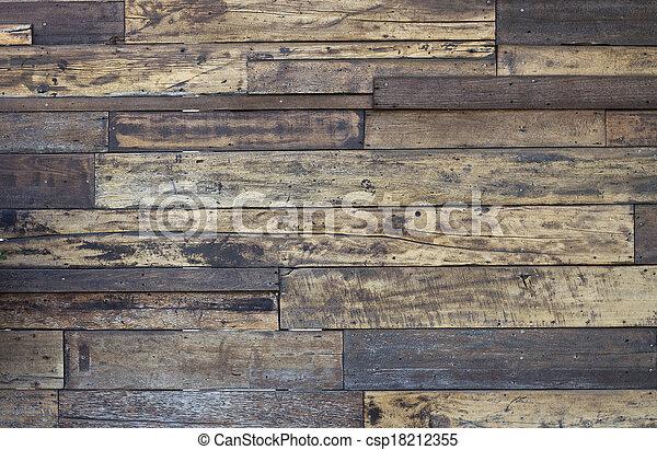 Alte Holzstruktur. - csp18212355
