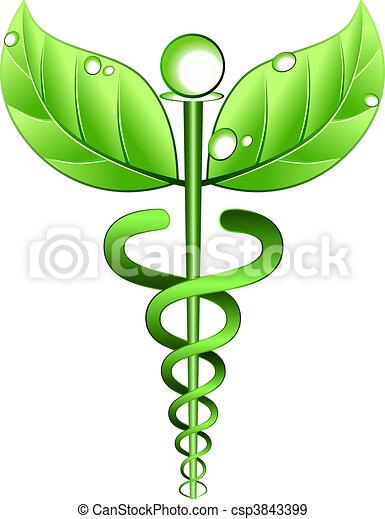 Alternative Medizinsymbolvektor - csp3843399