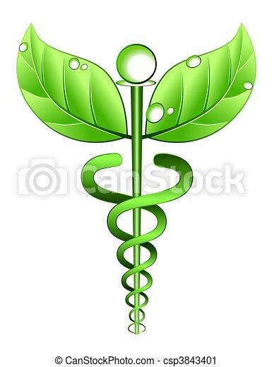 Alternatives Symbol für Medizin - csp3843401