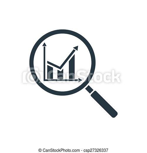 analitics, ikone - csp27326337