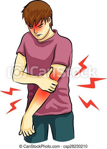 Armschmerzen. - csp28230210