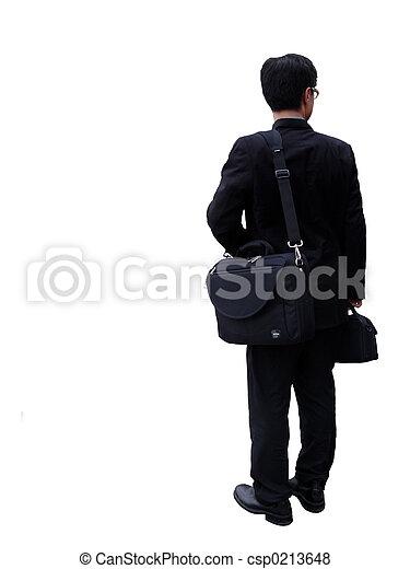 Asiatischer Geschäftsmann - csp0213648
