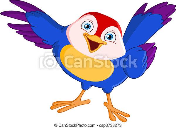 Auf den Vogel zielen - csp3733273