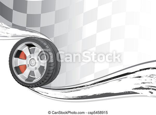 Automobilrennen - csp5458915