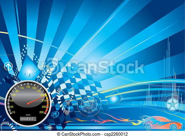 Autorennen-Konzept - csp2260012