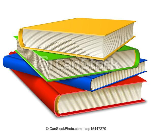 Bücher stapeln - csp15447270