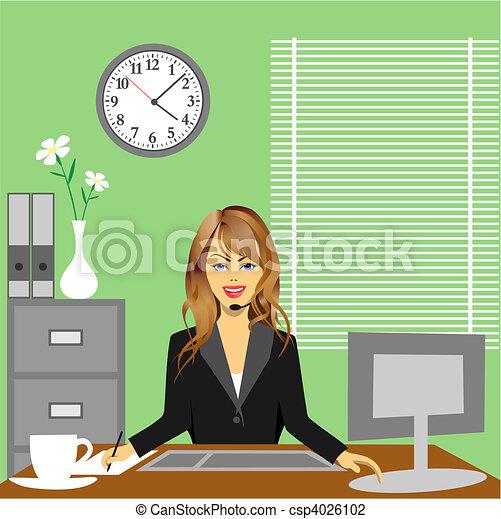 Büro - csp4026102