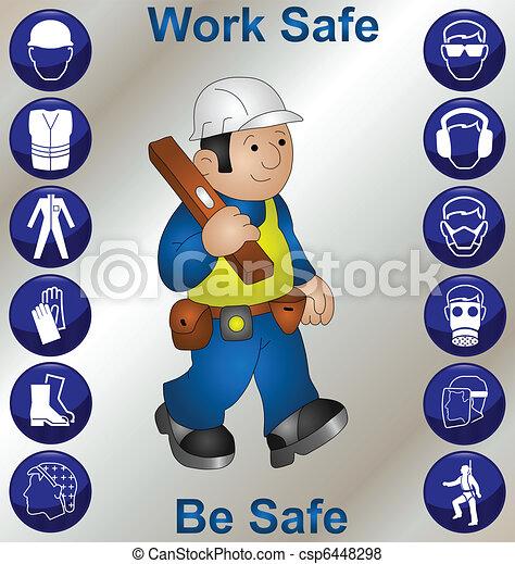 Bauarbeiter - csp6448298