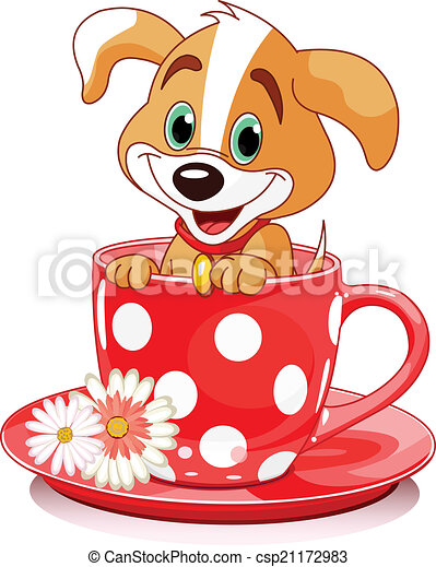 Cup Dog - csp21172983