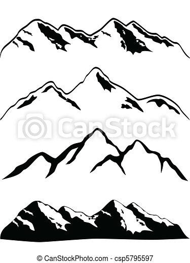 Berggipfel - csp5795597
