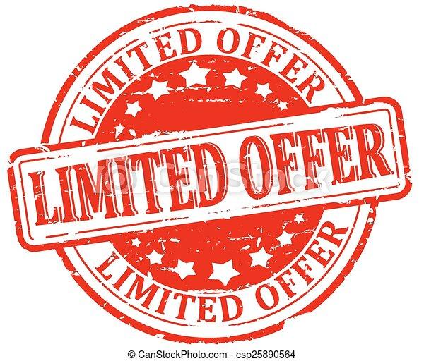 Beschädigte Dichtung - begrenztes Angebot. - csp25890564
