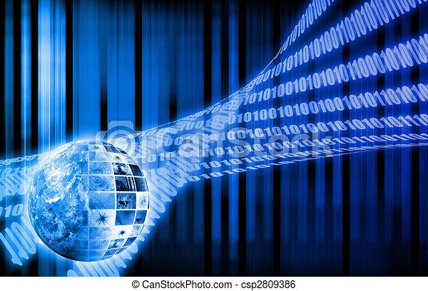 Betriebssystem abstrakter Hintergrund - csp2809386