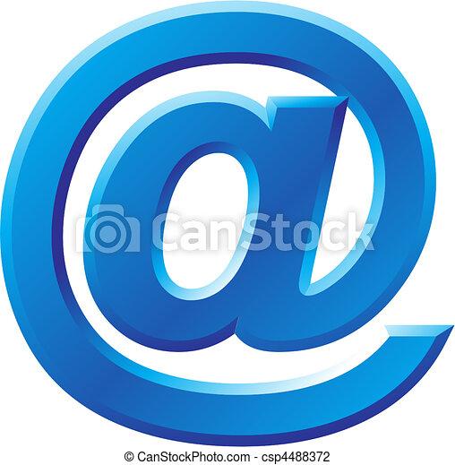 Bild des Internetsymbols. - csp4488372