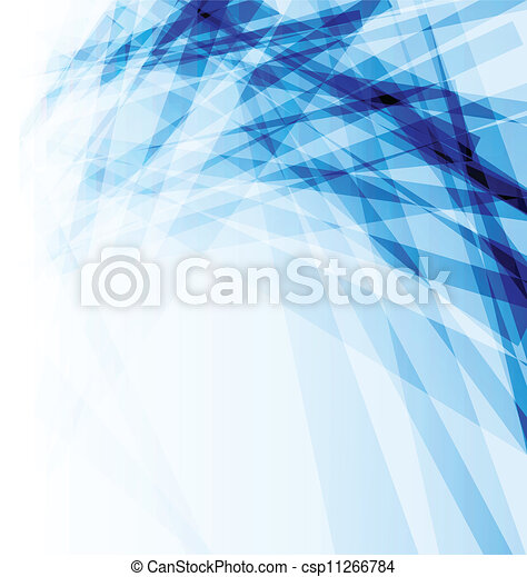 Blaue Geschäftsbroschüre, abstrakter Hintergrund - csp11266784