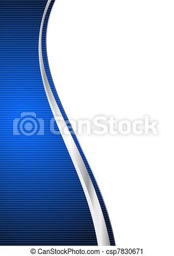 Blauer abstrakter Hintergrund - csp7830671