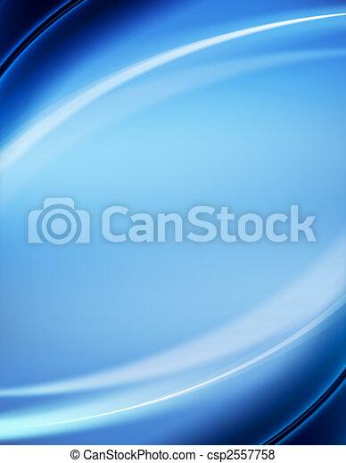 Blauer abstrakter Hintergrund - csp2557758