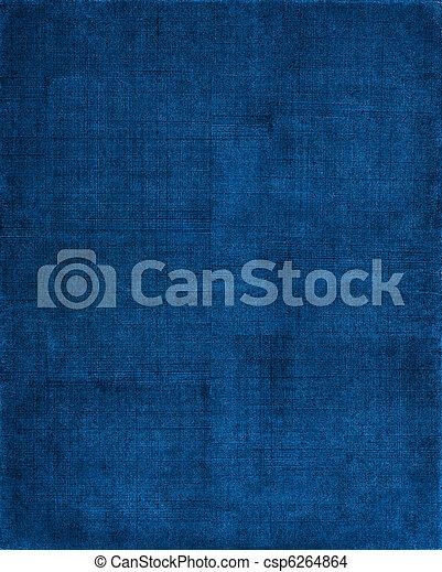 Blauer Stoff Hintergrund - csp6264864