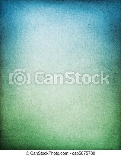 Blaugrüner Hintergrund - csp5675780
