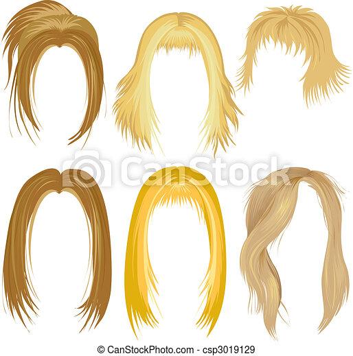 Blonde Haare - csp3019129
