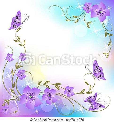 Floral Hintergrund - csp7814076