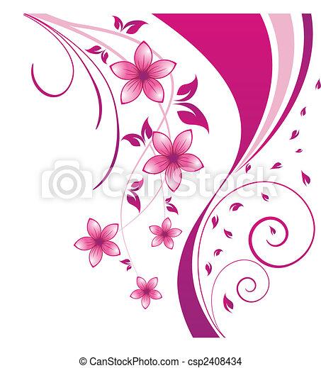 Floral Hintergrund - csp2408434