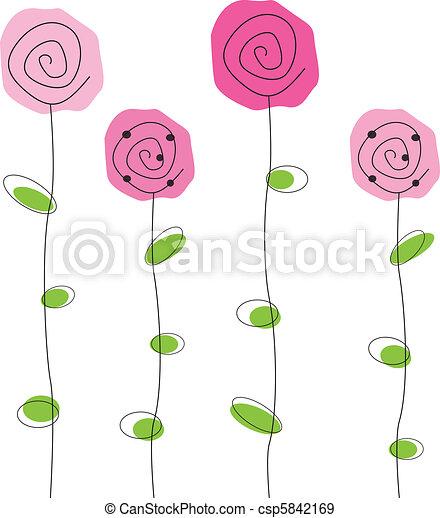 Blumen - csp5842169