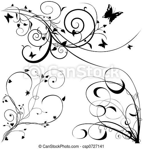 Blumenelemente C. - csp0727141
